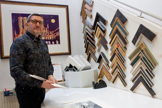 Tobias Harnisch, Galerieassistenz
