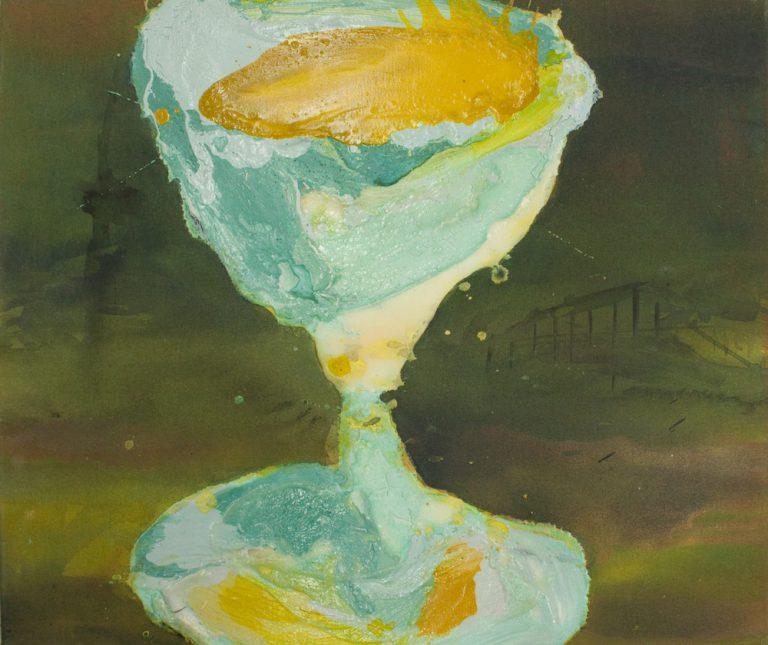 Richter, Melanie, Glas, Mischtechnik auf Leinwand, 60 x 50_2