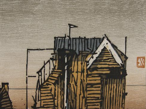 Manuel Knortz, 230216, Holzschnitt, Ausstellung